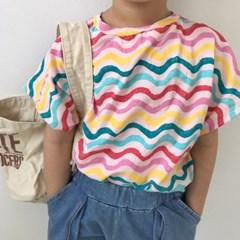 물결가오리 아동 티셔츠