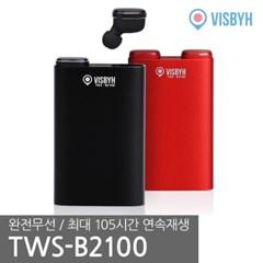 비스비 블루투스 무선 이어폰 TWS-B2100_(836816)