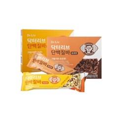 닥터리브 단백질바(치즈맛/초코맛) 1박스(4개)