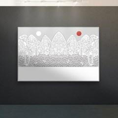 [강경숙칠판] 다그 일월오봉도 100x180