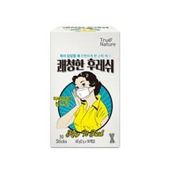 목이 시원한 쾌청한 후레쉬 미네랄 비타민 분말 스틱