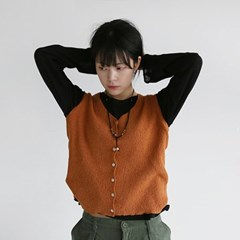 cozy mood knit vest (5colors)_(1239242)