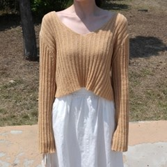 Capri crop knit
