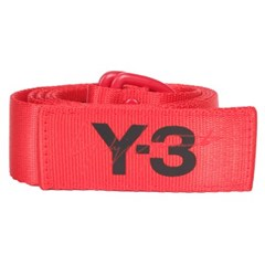 19SS Y-3 로고 벨트 (레드) DY0522 RED