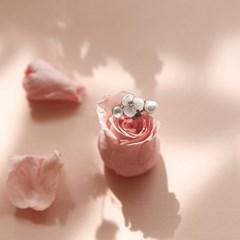 제이로렌 P0343 영롱 자개꽃 진주 써지컬스틸 피어싱_(832055)