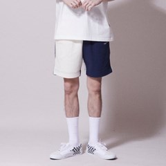 SP058_Wave Logo Banding Shorts_Multi
