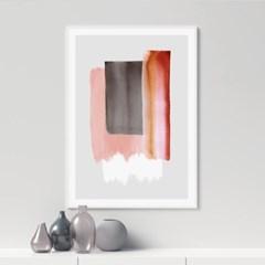 카민 추상화 그림 인테리어 액자 포스터