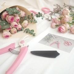 [kukka] 사카겐 핑크 전지가위