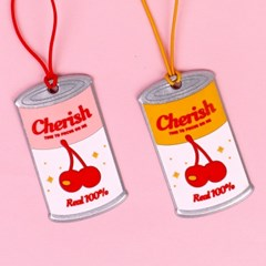 NAMETAG - CHERRY CAN