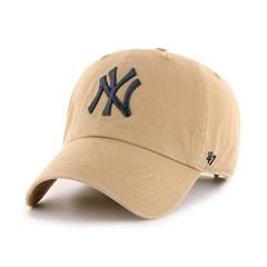 47브랜드 MLB모자 뉴욕 양키즈 다크카키 네이비빅로고
