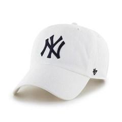 47브랜드 MLB모자 뉴욕 양키즈 화이트 네이비빅로고