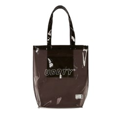 BL025_Wave Logo PVC Eco Bag_Black