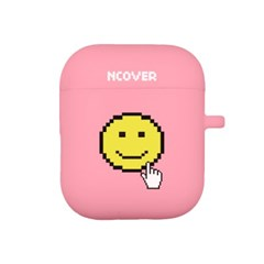 Smile cursor-pink(airpod case)_(1154512)