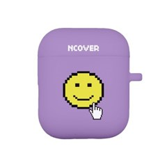 Smile cursor-purple(airpod case)_(1154513)