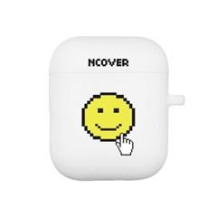Smile cursor-white(airpod case)_(1154514)