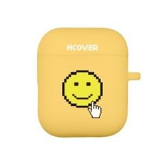 Smile cursor-yellow(airpod case)_(1154515)