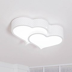 더블 하트 LED 방등 50W