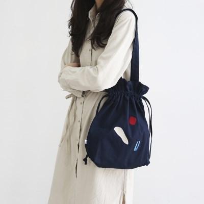 [사이코지만 괜찮아 박규영 착용] DUMPLING BAG_NAVY