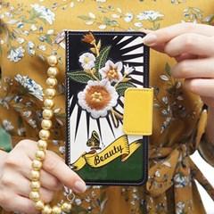 갤럭시S7엣지 (G935) OrienpopBeauty-Gold 지갑 다이어리 케이스