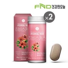 FND건강한오늘 한입정 히비스커스정 2통(120정) 4개월분