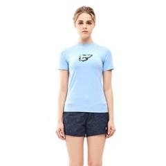 밸롭 여성 쿨썸 티셔츠 스카이블루_(6354412)
