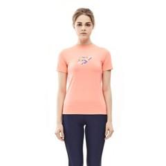 밸롭 여성 쿨썸 티셔츠 피치핑크_(6354411)