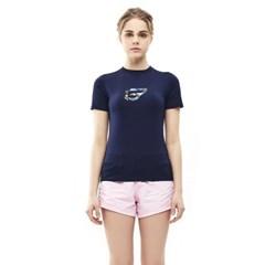 밸롭 여성 쿨썸 티셔츠 네이비_(6354410)