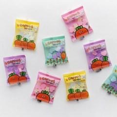 핑크풋 당근 젤리 지우개
