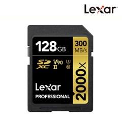 [렉사] 공식판매원 SD카드 2000배속 UHS-Ⅱ급 128GB_(912182)