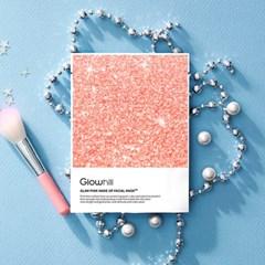 글램핑크 메이크업 페이셜 마스크팩 SET(10매)