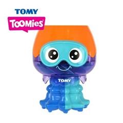 토미투미 목욕놀이 회전하는 해파리 장난감  72548_(1583761)