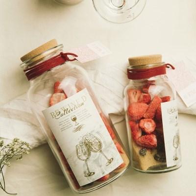 와인 담금주키트 리와인드 와인키트 500ml 딸기