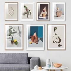미니멀 감성 오브제 정물 포스터 20종 북유럽 인테리어그림액자