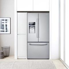 랩소디 냉장고 옆 수납장350