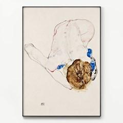 메탈 모던 빈티지 명화 그림 포스터 액자 에곤 쉴레 28