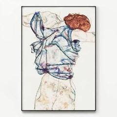 메탈 명화 아트 그림 인테리어 액자 에곤 쉴레 24