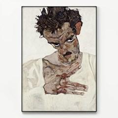 메탈 명화 인테리어 아트 포스터 액자 에곤 쉴레 13