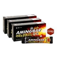 [행복담은식탁] 아미노산 에너지바 아미노양갱 3박스 총15개입