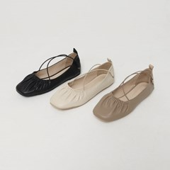 wrinkle ballet shoes (3colors)_(1308825)
