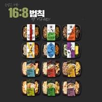 [시간제한도시락]라이트 A_1주식단 12팩