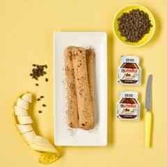피나포레 누텔라 바나나 DIY  아이스크림 만들기