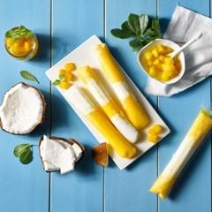 피나포레 망고 코코넛 아이스팝 아이스크림 만들기 DIY 홈베이킹