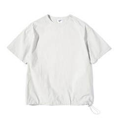 Pullover String Tee L.Gray