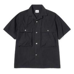 Structure Half Shirts Black