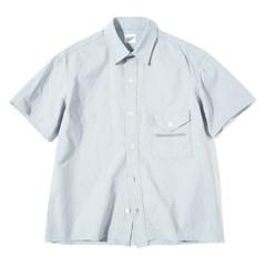 Zipper 1/2 Shirts L.Blue