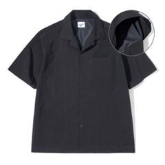 Mesh Half Shirts Black