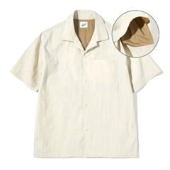 Mesh Half Shirts L.Beige
