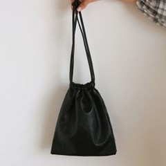Mini square bucket bag