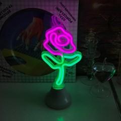 Rose Neon Lamp