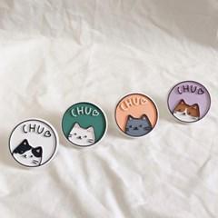 chu 고양이 차량용 석고방향제